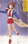 Click here to enlarge image and see more about item GENEDO12: Ashton Drake Gene Doll Outfit STAND UP AND CHEER