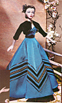Click here to enlarge image and see more about item GENEDO16: Ashton Drake Gene Fashion Doll Outfit HACIENDA