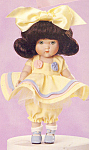 Click here to enlarge image and see more about item GINNY1: GINNY DOLL Porcelain Kindergarten Series