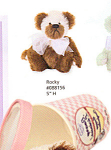 Click to view larger image of Knickerbocker Annette FunicelloTeddy Bear ROCKY (Image1)