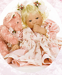 Click to view larger image of Lee Middleton Doll YOU MAKE LIFE BEARABLE (Image1)
