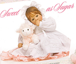 Click to view larger image of Lee Middleton Doll SWEET as SUGAR (Image1)
