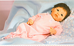 Click here to enlarge image and see more about item MD2: MIDDLETON COLLECTIBLE DOLL BABY MEI MEI