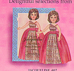 Click here to enlarge image and see more about item PDMA7: Madame Alexander Paper Doll JACQUELINE