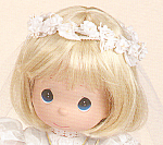 Click to view larger image of Precious Moments First Holy Communion Doll BLONDE HAIR (Image1)