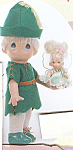 Click to view larger image of Precious Moments Doll Peter Pan and Tinkerbelle (Image1)