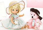 Precious Moments Collectible Doll Tea for Two