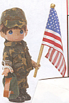 Click to view larger image of Precious Moments Collectible Doll FREEDOM DEFENDER (Image1)