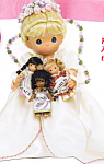 Click to view larger image of Precious Moments Doll PEACE AROUND the WORLD (Image1)