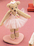 Click to view larger image of World of Miniature Bears GISELLE Ballerina Teddy Bear (Image1)