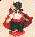 Click to view larger image of World of Miniature Bears PHANTOM Teddy Bear (Image1)
