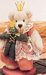 Click to view larger image of World of Miniature Bears Teddy Bear Princess and Frog (Image1)