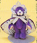 Click to view larger image of World of Miniature Bears Teddy Bear REGINA (Image1)
