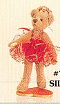 Click to view larger image of World of Miniature Bears Teddy Bear Ballerina SYLVANA (Image1)