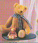 Click to view larger image of World of Miniature Bears Teddy Bear Theodore (Image1)