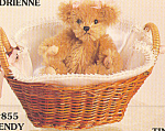 Click to view larger image of World of Miniature Bears Mohair Teddy Bear WENDY (Image1)