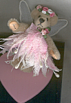 Click to view larger image of World of Miniature Bears BEVIE Angel Teddy Bear (Image1)