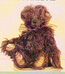 Click to view larger image of World of Miniature Bears CHOCOLATE PIE Mohair Teddy (Image1)
