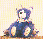 Click to view larger image of World of Miniature Bears BUBBA Mohair Teddy Bear (Image1)