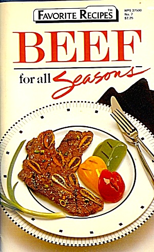 Favorite Recipes: BEEF for All Seasons (Image1)