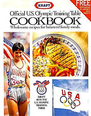 Official 1992 US Olympic Training Table Cookbook, Kraft,  Photos (Image1)