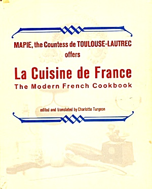 La Cuisine De France, 1960s French Cuisine for American Cooks (Image1)