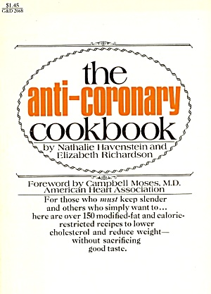 Anti-coronary Cookbook