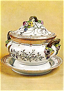Royal Copenhagen Porcelain Tureen Postcard (Image1)