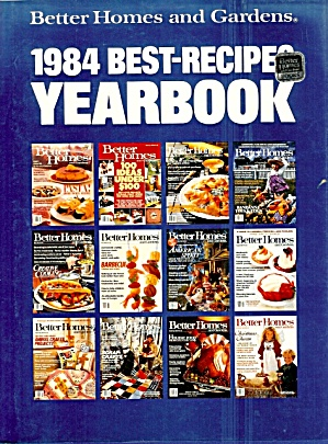 1984 Best-recipes Yearbook, Better Homes And Gardens
