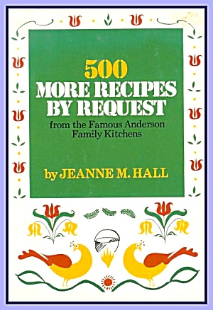 500 More Recipes By Request: Anderson Hotel Family Kitchens, 1960  (Image1)