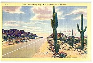 ARIZONA: Out Wickenburg Way, Highway 60 (Image1)