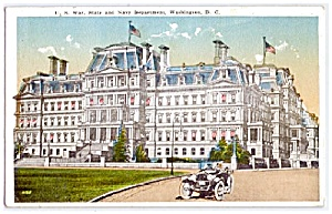 D.C.:   War, State, Navy Department Building, Washington  (Image1)