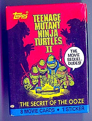 Teenage Mutant Ninja Turtles Ii Cards And Stickers