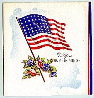 WWII Era Homecoming Greeting Card (Image1)