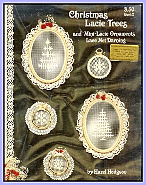 Christmas Lacie Trees, Ornaments: Net Darning Patterns Book (Image1)