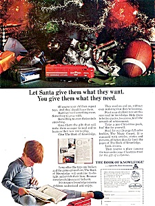 Neat 1963 Christmas Ad - Trains & Toys (Image1)