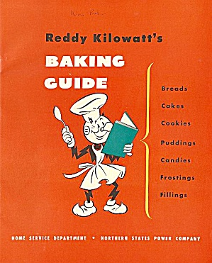 Reddy Kilowatt's Baking Guide, 1948