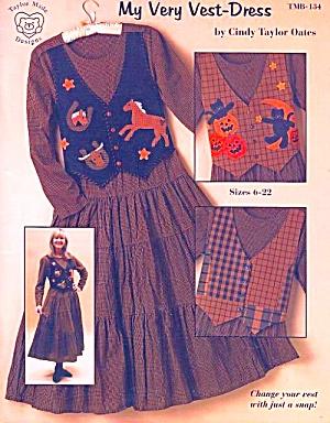My Very Vest-Dress, Cindy Taylor Oates, Sz 6-22 Sewing Pattern (Image1)