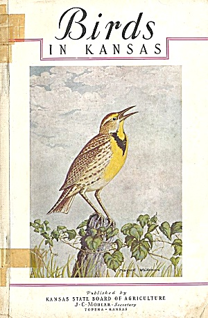 Birds In Kansas, 1945 State Ag Report, Detailed Color Drawings