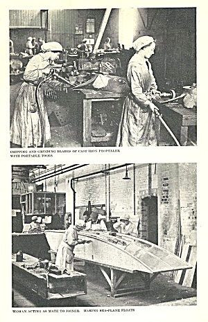 The Woman's Part: A Record Of Munitions Work, Ww I Great Britain