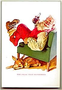 1958 National Geographic, Santa Coke Ad (Image1)
