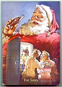 Complete 1950 National Geographic, Santa Coke Ad  (Image1)