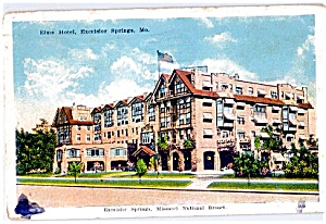 Missouri: Elms Hotel, Excelsior Springs Resort