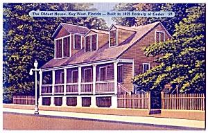 FLORIDA:  All-Cedar, Oldest House, Key West (Image1)
