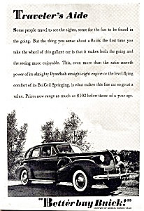 Better Buy Buick! Vintage Car Ad (Image1)