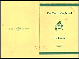 The Dutch Cupboard Tea House, Routes 140 And 15 S, Gettysburg Pa