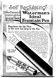 Waterman Ideal Fountain Pen Ad (Image1)