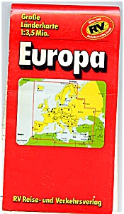 EUROPA - Tourist Map of Europe (Image1)