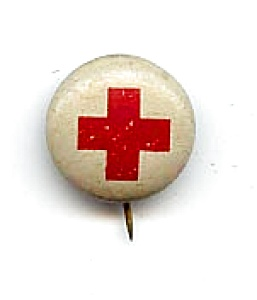 Red Cross Pin (Image1)