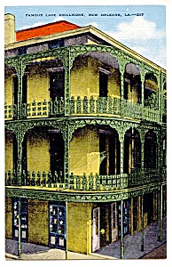 LOUISIANA: Famous Lace Grillwork, New Orleans (Image1)